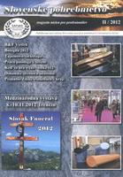 Slovenské pohrebníctvo II/2012